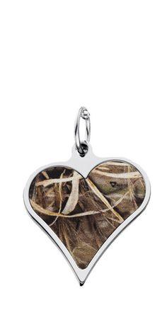 Realtree Camo Heart