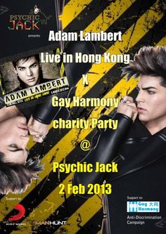 This Saturday 02 Feb.Gay Harmony Charity Party @ Psychic Jack Hong Kong   http://www.gayasiatraveler.com/what-up-this-week/psychic-jack-hong-kong/   Gay Asia Traveler