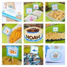 Noah's Ark Party by PetitPapel on Etsy, $12.00
