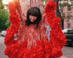 Jaime Lee Major's Custom-Designed Outfits for Kimbra's 'Miracle' Video Will Blow Your Mind