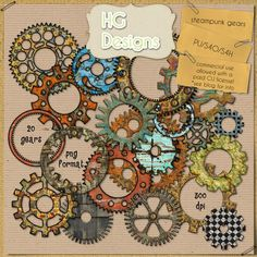 freebie gears (& lots of other free images)