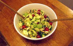 #Vegan Orzo Salad