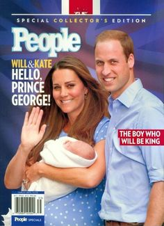 People magazine cover ~ Prince George