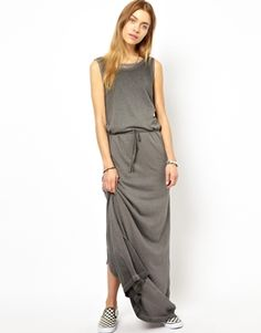 55DSL Sheer Layered Maxi Dress