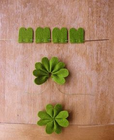 Here's a crafty clover project!