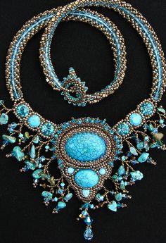 Celestial Ocean necklace by Cielo Design, via Flickr