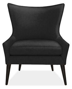 $799 Lola Chair in View Fabric - Chairs - Living - Room & Board