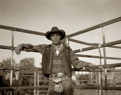 Cowboy, Miles City Rodeo