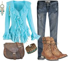 """""""Gypsy Chic"""" by debbie-probst on Polyvore"""