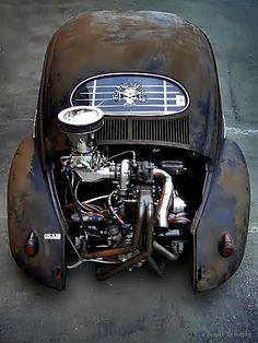 VW Rat Rod with Turbo.