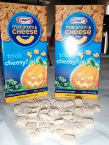 Halloween Mac and Cheese...at Target??? This blog has a graphing printable to use with the pasta.