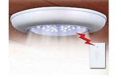 $15 for a Wireless Ceiling/Wall Light w/ Remote Control Light Switch - Shipping Included