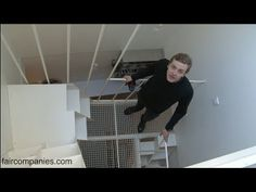 ▶ Paris' maison-stairwell stacks 4 floors in 25 sqm (269 sq ft) - YouTube