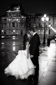 #paris #wedding #bride #groom #gown
