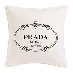 Its so obvious I need this - Prada pillow