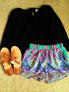 Old navy top, lotus boutique shorts and rose gold jacks
