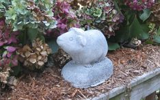 Guinea Pig statue by springhillstudio on Etsy, $18.95 I so need a guinea pig for my yard!!!!