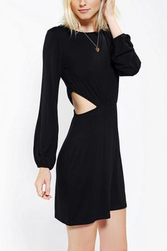 Neon Moon Knit Side Cutout Dress - Urban Outfitters