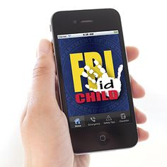 ALL parents should download this app! It's FREE & could be extremely useful if your child ever went missing. | FBI Child ID App