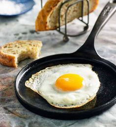 Perfect fried eggs: Discover the secret to making perfectly fried eggs your way- sunny-side up or eggs over easy, runny or hard yolk.
