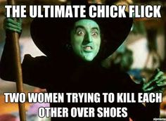 And red shoes to boot