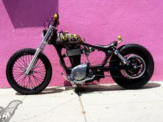 custom suzuki s40 brat bike | machine-13