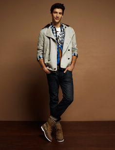 Moda hombres: LookBook Blanco Otoño Invierno 2011/2012