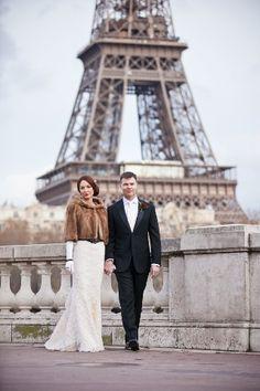 eiffel tower wedding