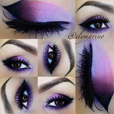 Purple daze. #mua #makeup #eyeshadow