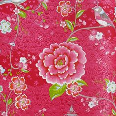 PiP Studio Birds in Paradise Red NOTHS