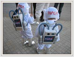 Creando Ardiles: Disfraz casero Astronauta disfress, univ, disfrac
