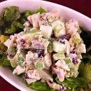 <3 Chicken apple crunch salad
