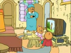 Berenstain Bears---GREAT for character ed or 7 Habits.  This one is on too Much TV (it's in 2 parts--the 2nd part shows up on the side when you click on the link)