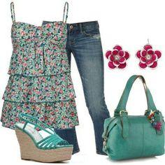 Fashion and stylish #outfit