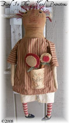 LOVE this prim little doll
