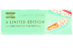 Day 12: TOMS inspires ways to give #pinspiration