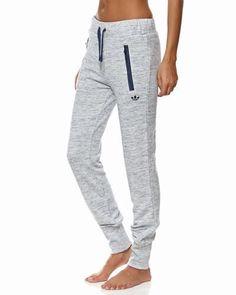 ADIDAS ORIGINALS PREM CUFFED SWEAT PANTS - BLUE -- need these