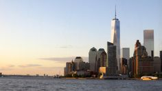 The sun sets on another beautiful day in NYC.