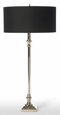 Barbara Cosgrove lamps, $220. South Shore Decorating: BCG-THIN-SILVER