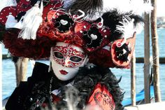 Mascara de carnaval de venecia