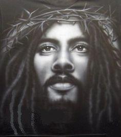 christians, faith, black jesus, christian art, white, the artist, lion of judah, black art, hair