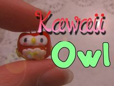 Cute Polymer Clay Owl Tutorial