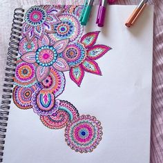 sketch, pattern, color, sharpie art, doodl, flower drawings, tattoo, drawing designs, marker art