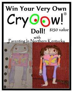 Parenting Beyond!  #WIN a #Cryoow Doll Giveaway & #ChristmasInJuly Giveaway Hop