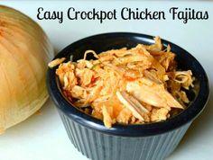 Easy Crockpot Chicken Fajita meat & Fajita Seasoning Mix Recipe