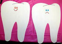 Healthy Teeth Activity, happy teeth need....