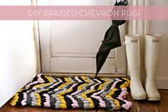 Awesome #DIY braided rug! Definitely need to make one of these!