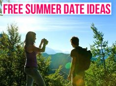 7 Summer Date Ideas  |  Want date ideas, reminders, and help planning the perfect night out? Sign up at www.datenight.is and be entered to win a free date night.