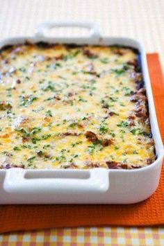 Easy Bacon, Egg  Cheese Breakfast Casserole Recipe
