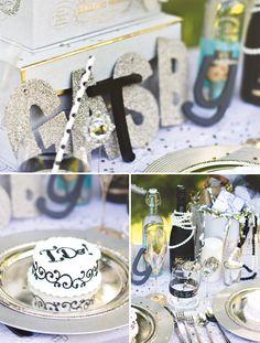 Una fiesta temática para un 40 cumpleaños! / A theme party for a 40th birthday!